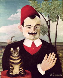 Portrait of Pierre Loti by Henri J.F. Rousseau