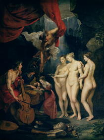 The Medici Cycle: Education of Marie de Medici  by Peter Paul Rubens