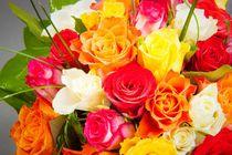 Farbenfroher Blumenstrauß von Björn Kindler