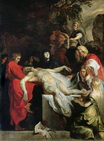 Das Begräbnis von Peter Paul Rubens