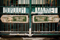 Borough Market Gates  von Heather Applegate