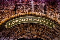 Borough Market Sign Color von Heather Applegate