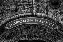 Borough Market Sign by Heather Applegate