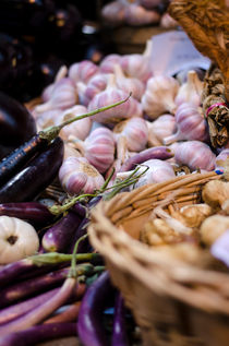 Fresh Garlic by Heather Applegate