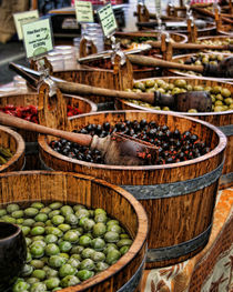 Olive Barrels by Heather Applegate