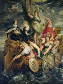 The Majority of Louis XIII 20th October 1614 by Peter Paul Rubens