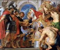 Abraham und Melchisedech von Peter Paul Rubens