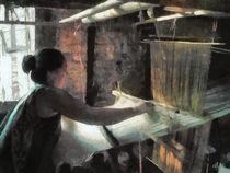 Die Weberin  - The weaver - von Wolfgang Pfensig
