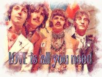 A Beatles Valentine von Stephen Lawrence Mitchell