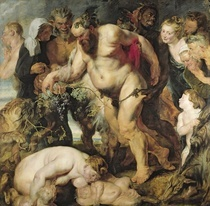The Drunken Silenus by Peter Paul Rubens