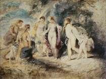 Urteil des Paris von Peter Paul Rubens