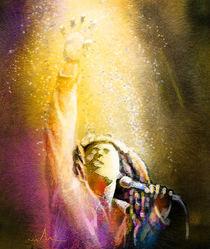 Bob Marley 03 von Miki de Goodaboom