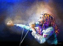 Bob Marley 04 von Miki de Goodaboom