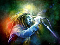 Bob Marley 05 von Miki de Goodaboom