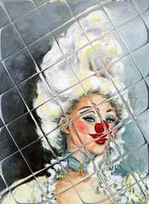 Clownesse Serafine 5 by Barbara Tolnay