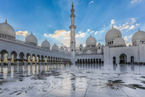 Sheikh Zayed Grand Mosque von Ahmed Rashed