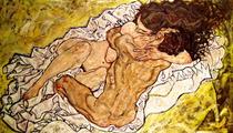 Die Umarmung von Egon Schiele