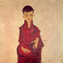 Rainerbub  by Egon Schiele