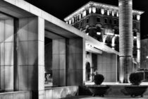 City square by night von Giorgio  Perich