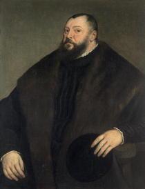 Kurfürst Johann Friedrich von Sachsen von Tiziano Vecellio