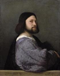 Portrait eines Mannes von Tiziano Vecellio