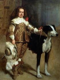 Ein Hofnarr von Diego Rodriguez de Silva y Velazquez