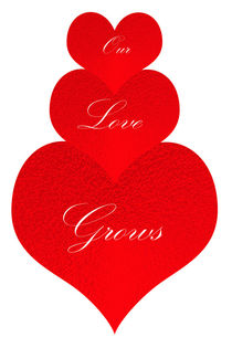 Our Love Grows von Judy Hall-Folde