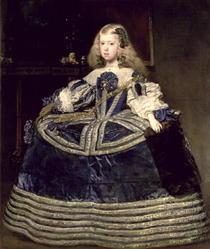 Infanta Margarita in Blue