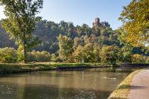 Burg Lahneck an der Lahn von Erhard Hess