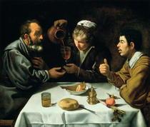 Das Mittagessen von Diego Rodriguez de Silva y Velazquez