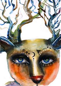 Deer by Laima Kiniauskaite