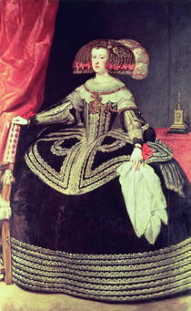 Queen Maria Anna of Spain by Diego Rodriguez de Silva y Velazquez
