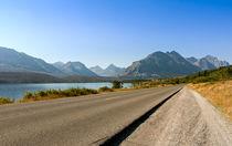 Drive Into Glacier von John Bailey