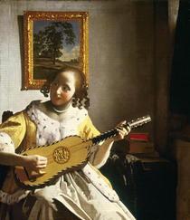 Gitarrenspielerin von Jan Vermeer