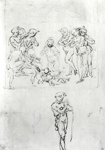 Studie zur  von Leonardo Da Vinci