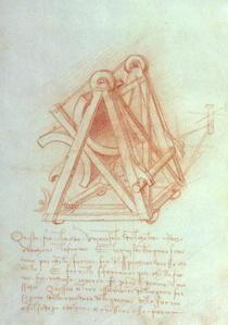Studie zum Reiterstandbild des Francesco Sforza von Leonardo Da Vinci