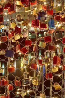 Love padlocks by Giorgio  Perich