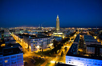 Le Havre by night by Hilke Maunder