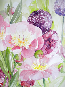 Peonie in rosa von Sonja Jannichsen