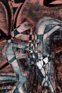 Abstract graffiti 1 von Steve Ball