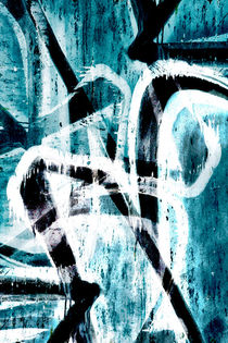 Abstract graffiti 4 von Steve Ball