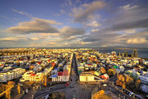 Vista of Reykjavik  by Rob Hawkins