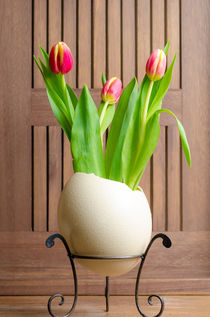 Tulips and easter egg von 7horses