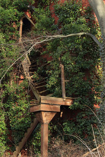 Verfallene Treppe by Henning Hollmann