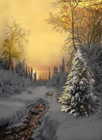 Wintertiere von Heidi Schmitt-Lermann