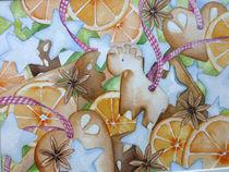 Lebkuchen - Orangen - Zimtsterne ... ein Weihnachstsgefühl von Sonja Jannichsen