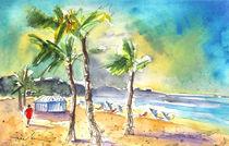 Las Canteras Beach in Las Palmas de Gran Canaria von Miki de Goodaboom