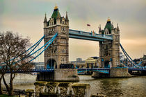 Spanning the Thames in Colour by Heather Applegate