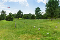 Fredericksburg National Cemetery by John Bailey
