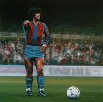 Diego Maradona von Paul Meijering